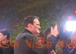 Quentin Tarantino alla Festa del Cinema di Roma, l'arrivo del cineasta sul red carpet