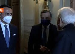 Mattarella riceve al quirinale Draghi e alcuni Ministri in vista del Consiglio Ue