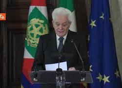 """Mattarella: """"Ripartenza per progresso ulteriore, serve alleanza tra generazioni"""""""
