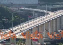 Il collaudo del Ponte di Genova in timelapse