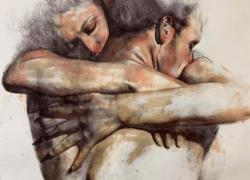 Giuliano Macca, 'La solitudine degli angeli' in mostra alla galleria Etra Studio Tommasi di Firenze