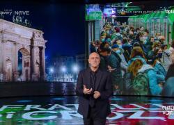 Monologo Crozza: se Fontana è un Front Office, allora Gallera è quello che svuota i cestini