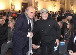 """Maradona, Ferlaino a Cabrini: """"Alla Juve un giocatore si è suicidato"""""""