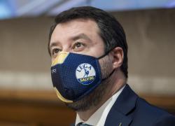 """Salvini sul Green pass: """"Contrario anche dopo il vaccino, no comment su Draghi"""""""