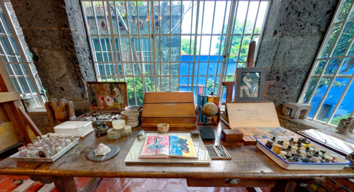 Foto da tour virtuale Museo Frida Kahlo