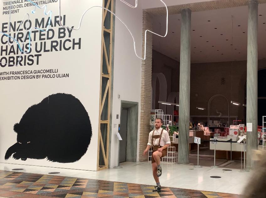 Boris Charmatz in Triennale