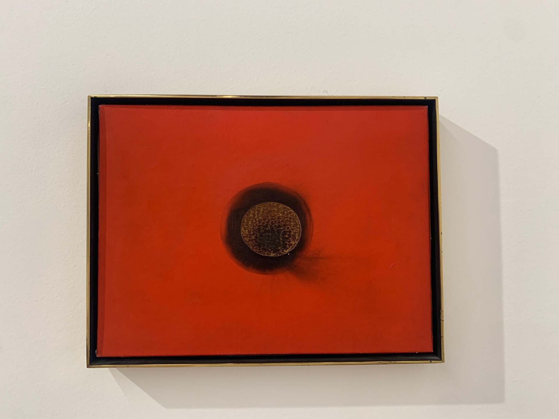 Otto Piene, Small Fire Painting, 1964