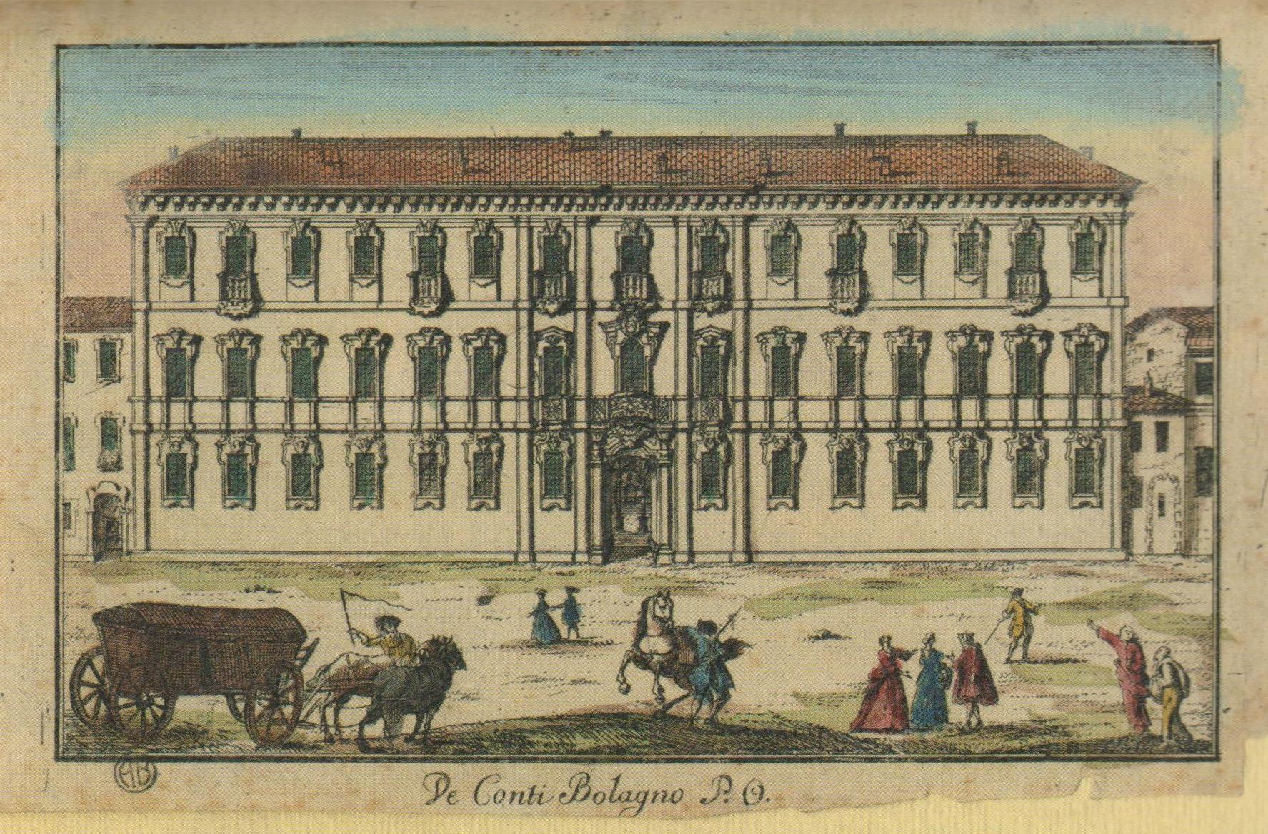 Marc'Antonio Dal Re, Palazzo Bolagnos, Archivio Storico Bertarelli, Castello Sforzesco, Milano