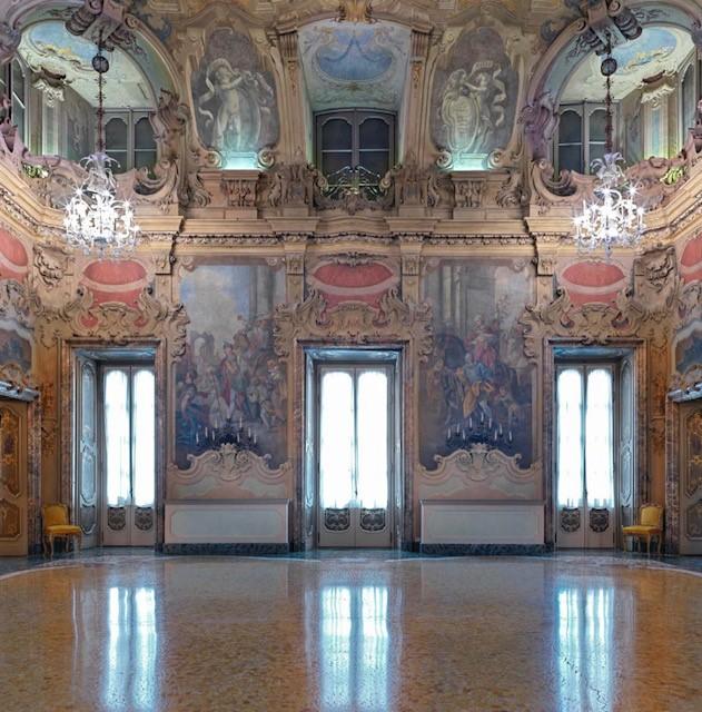 Palazzo Visconti, Sala da Ballo, sede SoCrea, photo Matteo Piazza